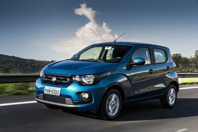 Para levar o Mobi completo é preciso desembolsar mais de R$ 35 mil - Fiat / Divulgação