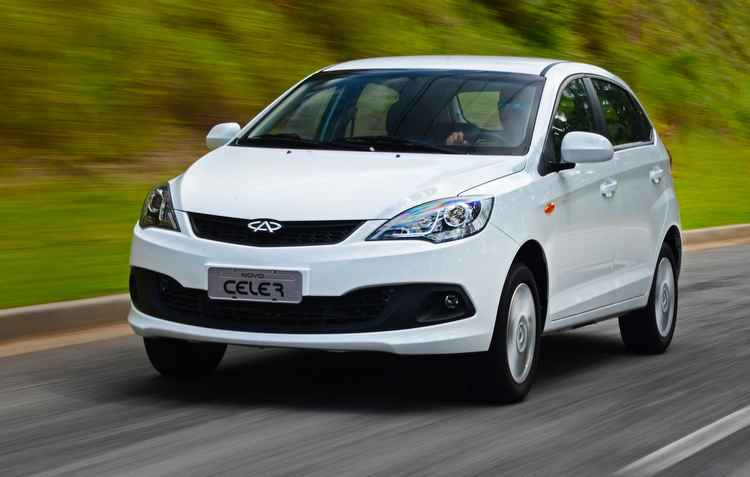 Vendido no Brasil desde 2013, o Celer foi o primeiro veículo da Chery produzido no Brasil - Chery / Divulgação