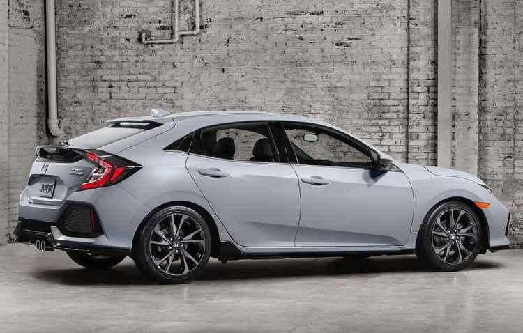 Traseira é ponto forte no design do carro e na Sport Touring o escape pode ser modificado - Honda / Divulgação