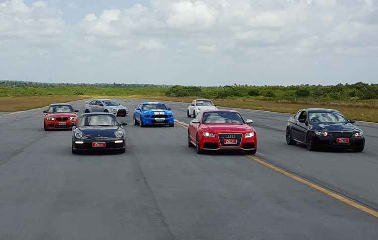 Para participar do evento, basta ser um motorista, possuir um veículo e querer acelerá-lo - Jorge Moraes / DP