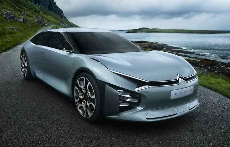 Visual impactante do conceito fica por conta das suas medidas - Citroën / Divulgação