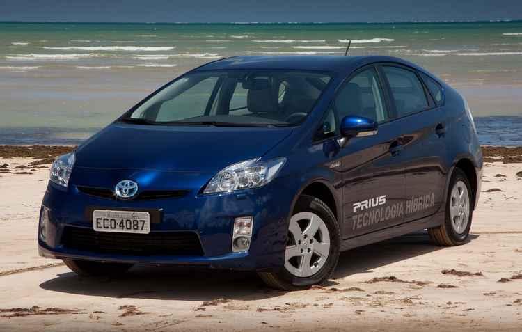 Prius híbrido chegou à quarta geração ano passado - Toyota / Divulgação