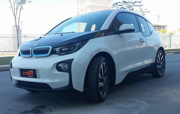 BMW i3 é um dos mais em conta, perto dos R$ 180 mil - Jorge Moraes / DP