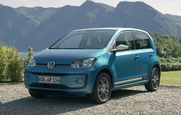 Modelo um maior espaçamento entre a base do para-choque e o início do capô - Volkswagen / Divulgação