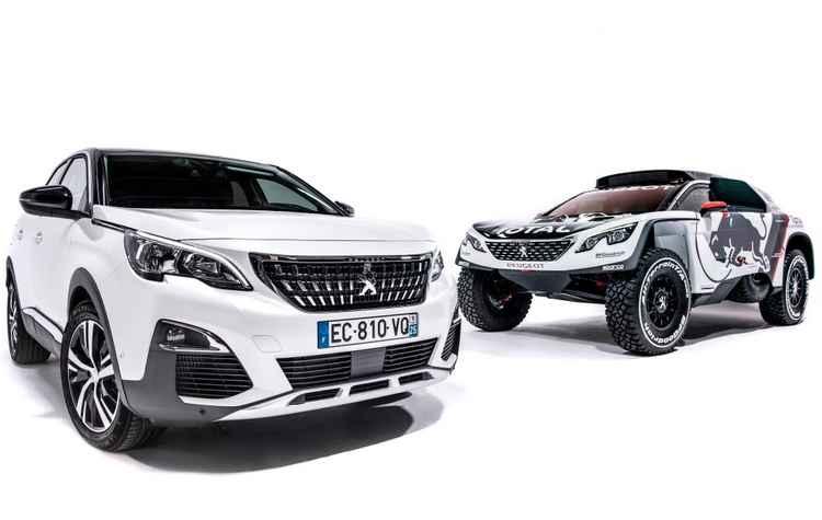 Semelhança predomina nos farois, na grade e na faixa transversal com garras vermelhas nas lanternas - Peugeot / Divulgação
