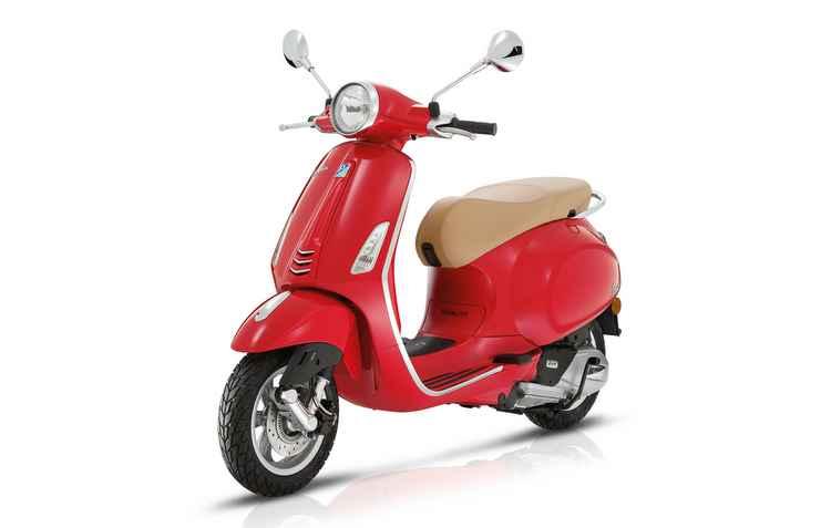 Fabricante espera vender até duas mil unidades da motocicleta até o fim do ano - Piaggio / Divulgação