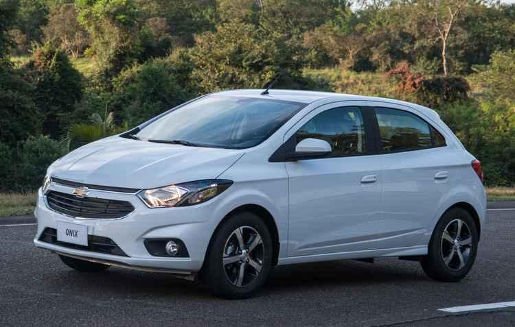 Modelo mais vendido da Chevrolet ajudou a montadora a figurar no topo de vendas até então - GM / Divulgação