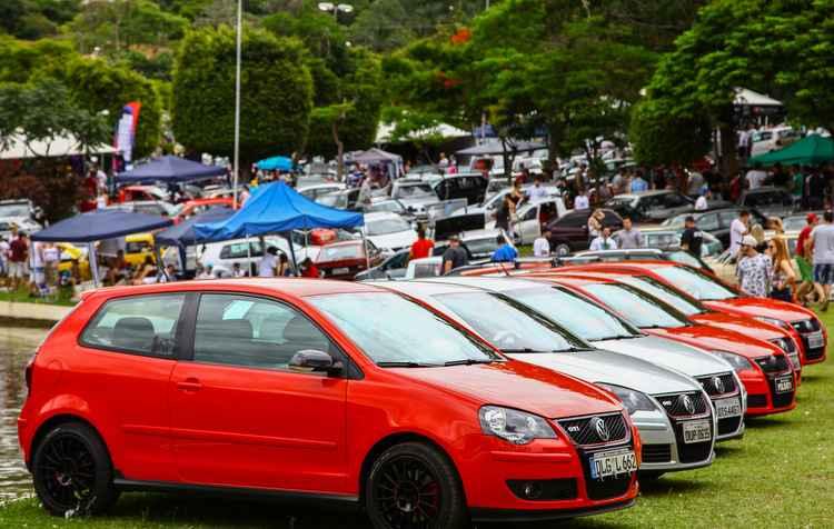 São esperados Gol GT, Gol GTS, Gol GTI, Corrado VR6, Fuscas customizados, Parati, Brasília, Kombi Pick-up, Passat GTS, Santana, Polo, várias versões do Golf, entre outros clássicos da marca - Volkswagen / Divulgação