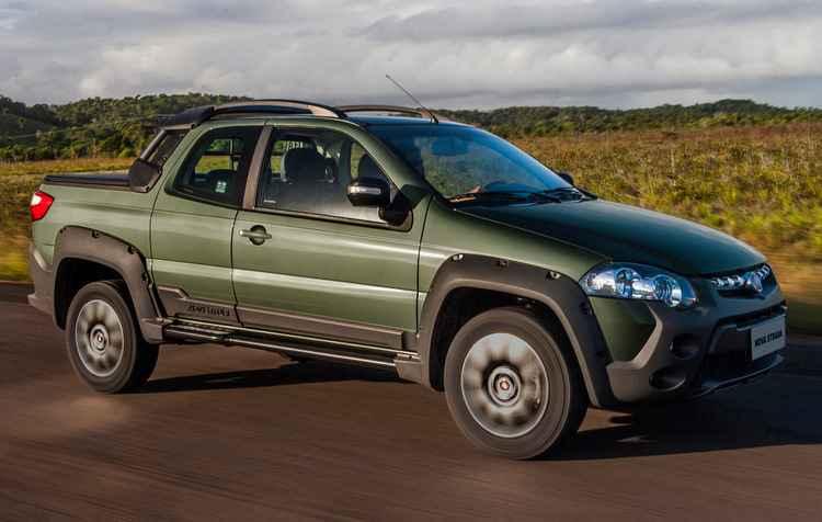 Os preços variam entre R$ 46.790 e R$ 77.600 - Fiat / Divulgação