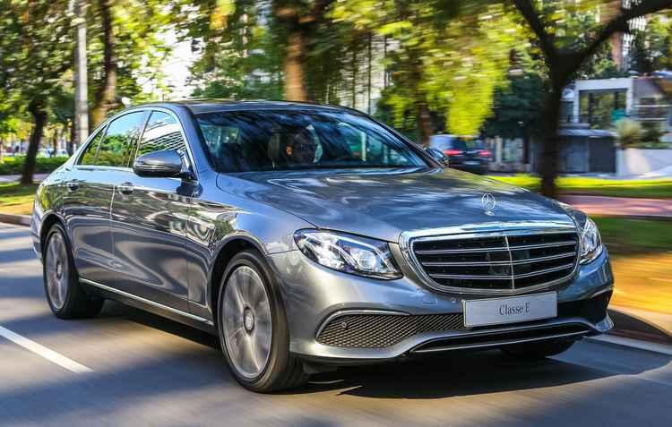 Mercedes Classe E foi assunto no programa Auto Motor de ontem - Mercedes Benz/Divulgação