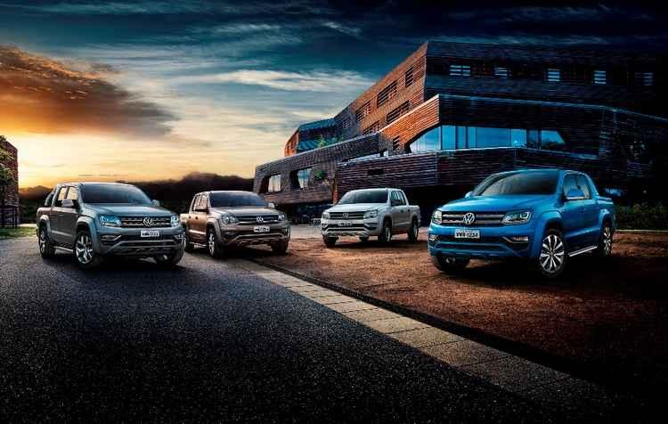 Volkswagen prometeu 12 novidades no Salão do Automóvel de São Paulo deste ano, uma delas é a nova Amarok 2017 - Volkswagen / Divulgação