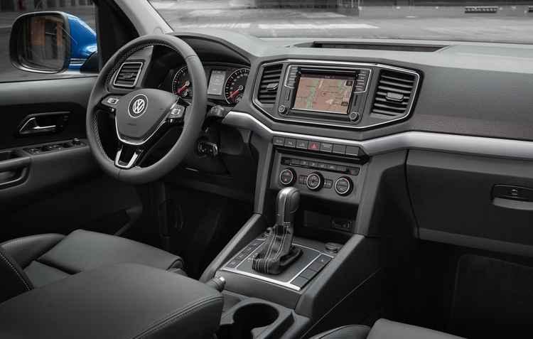 Na Extreme é possível econtrar quadro de instrumentos com tela colorida 3D de 3,5%u201D - Volkswagen / Divulgação