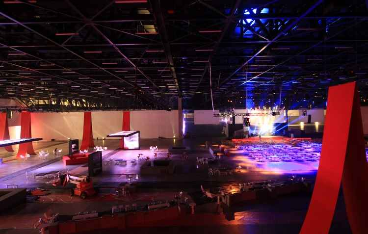 Visitante terá áreas para descanso com conforto - São Paulo Expo / Divulgação
