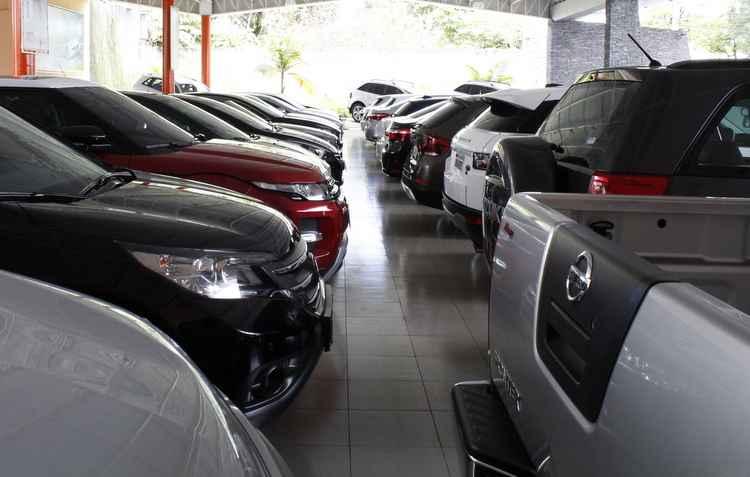 No geral, foram emplacadas 159.049 veículos, contra 192.133 no mesmo mês em 2015 - Rodrigo Silva  / DP