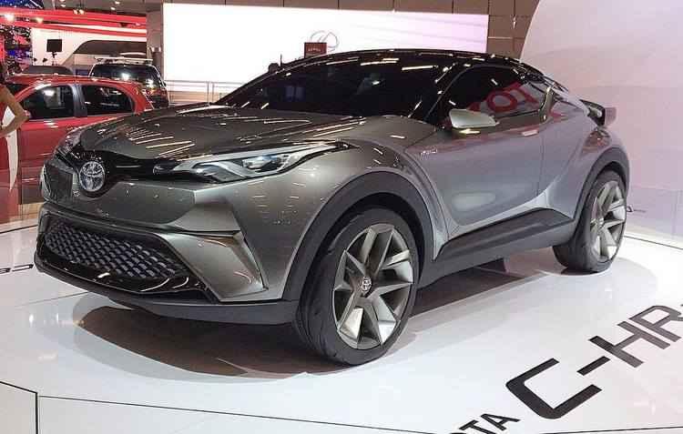 C-HR compete com Honda HR-V, Jeep Renegade, Nissan Kicks e Renault Captur - Acelerando por ai / Divulgação