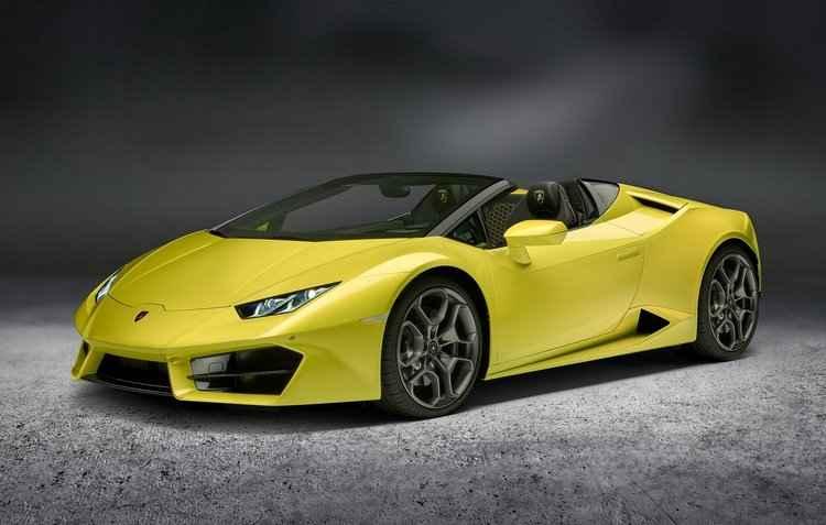 Nova versão do Huracán Spyder, com tração traseira, foi anunciada pela Lamborghini - Lamborghini / Divulgação