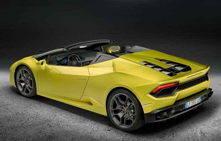 Novidade conta com um propulsor aspirado de 5.2L V10 que entrega 580 cv de potência - Lamborghini / Divulgação