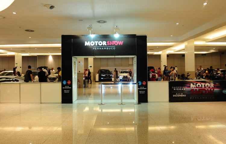 Evento acontece até o dia 18 de dezembro no Shopping Rio Mar - Motor Show Pernambuco / Divulgação