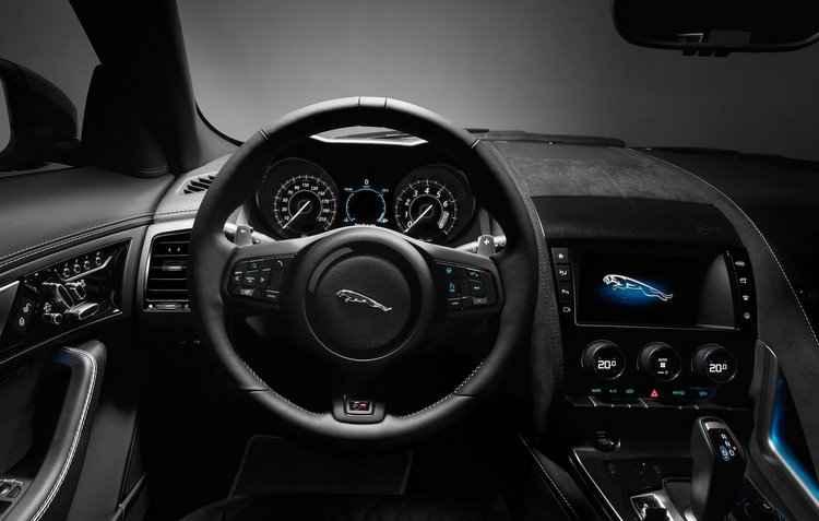 De acordo com dados da montadora o carro vai de 0 a 100 km/k em 3,6 segundos - Jaguar / Divulgação
