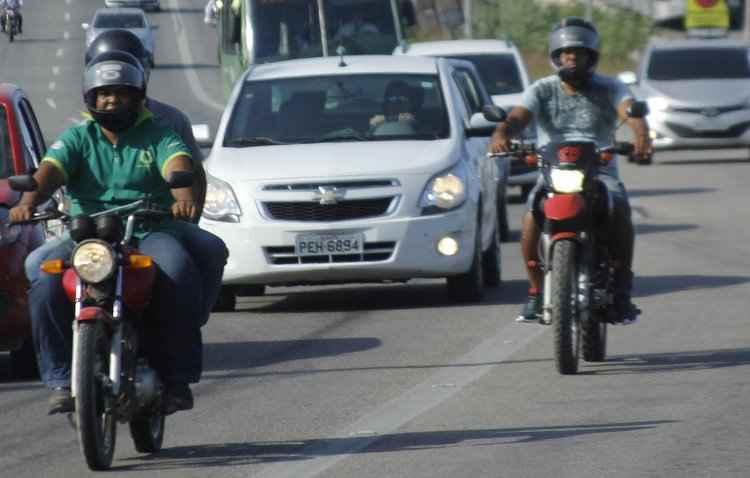 Manobra de Risco requer cálculo de velocidade e atenção redobrada no trânsito para não colocar vidas em risco - Shilton Araujo/Esp.DP