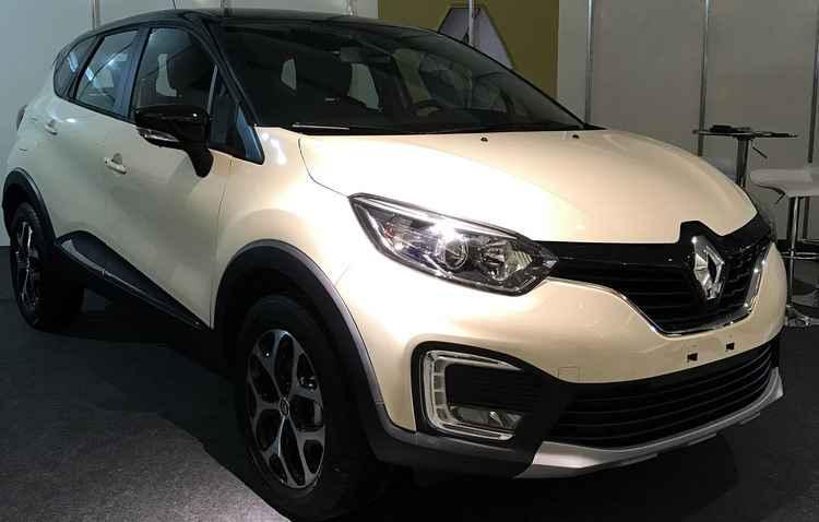 Novo Renault Captur, lançamento direto do Salão de São Paulo. - Jorge Moraes/Esp DP