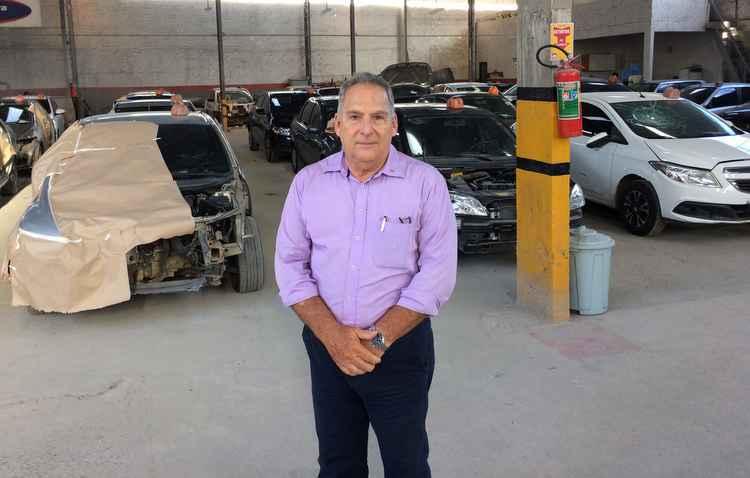 Carlos Valle recomenda obsersar barulhos e vibrações do motor - Victor Lacerda / Esp. DP