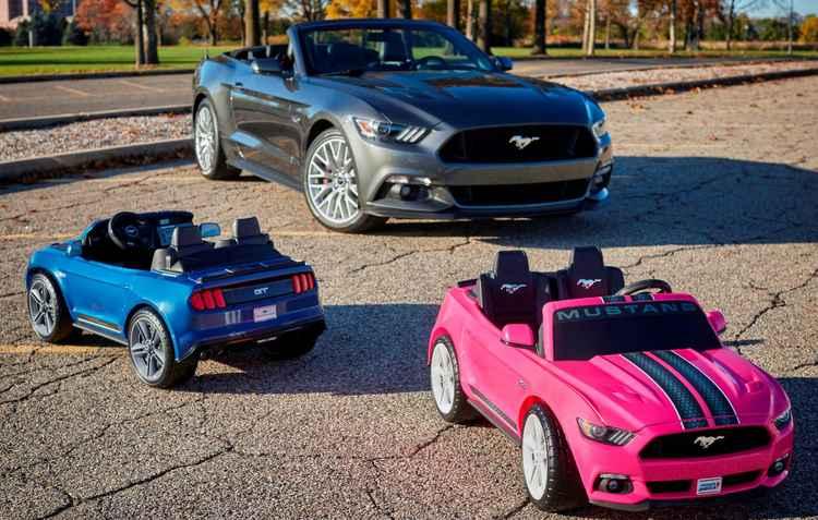 O Mustang dos baixinhos é vendido apenas nos EUA e custa US$ 360, cerca de R$ 1.200.  - Ford/Divulgação