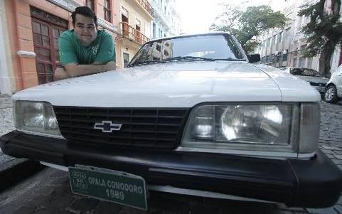 Opala Comodoro 1989 é todo original - Ricardo Fernandes/DP