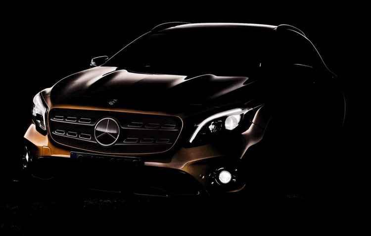SUV recebe sua primeira mudança no visual com faróis de led e central multimídia com Apple CarPlay e Android Auto - Mercedes-Benz/Divulgação