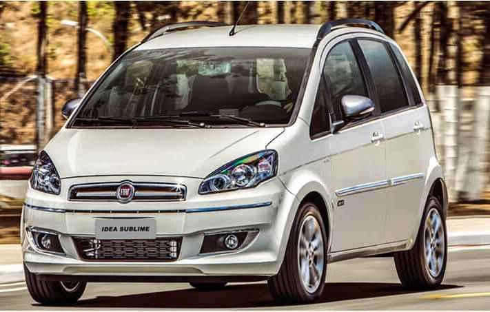 Idea sai de linha por ser antigo e ter pouca comercialização - Fiat / Divulgação