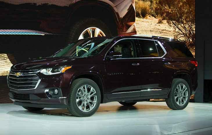 Chevrolet Traverse não tem previsão de chegar ao Brasil - Reprodução da internet