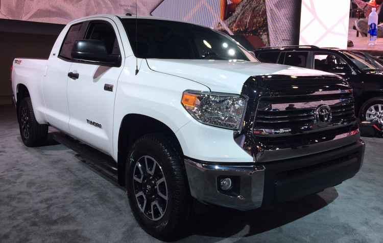 Novo Toyota Tundra chega com visual mais robusto - Taciana Góes/ DP