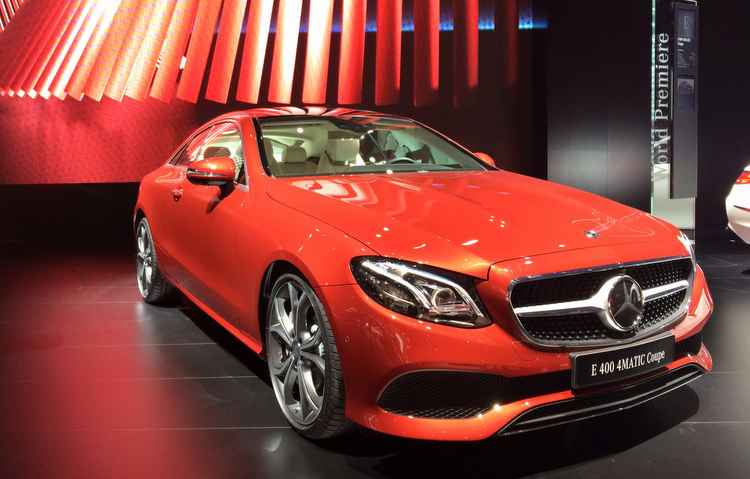Mercedes-Benz Classe E chega no Brasil no segundo semestre deste ano - Taciana góes/DP