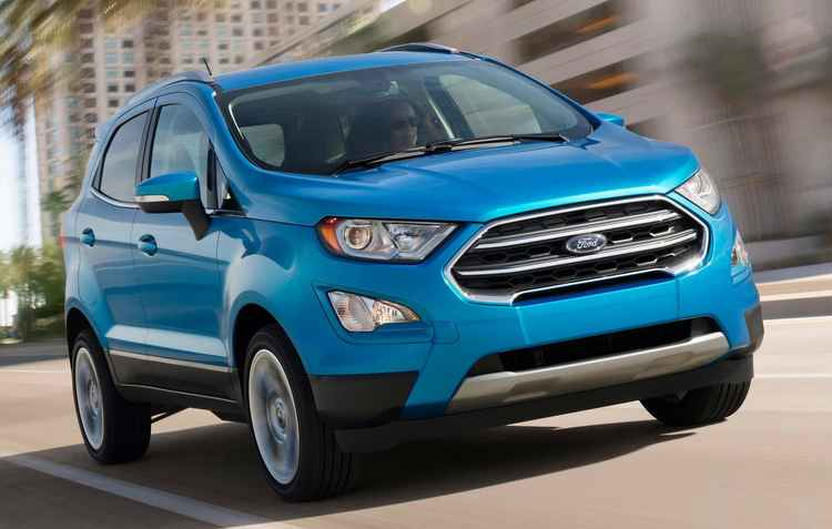 EcoSport renovado é promessa para o segundo semestre no Brasil - Ford/Divulgação