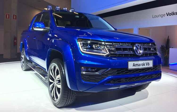 Poucas unidades à venda da Volkswagen Amarok V6 - Jorge Moraes/DP