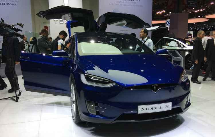 Tesla Model X / Jorge Moraes