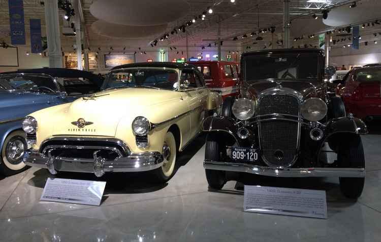 Series 88 (1950) e F-32 (1932) marcam presença no museu - Taciana Góes/DP