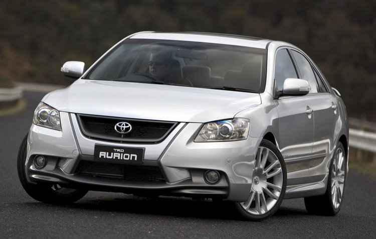 Aurion será o primeiro a ter sua produção cancelada em agosto deste ano - Toyota/Divulgação