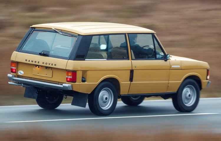 Clássico ganha motor V8 3.5 a gasolina e potência de 133 cavalos - Ranger Rover/Divulgação
