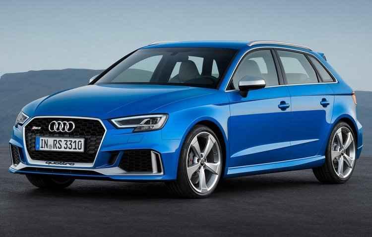 Mudanças no esportivo RS 3 Sportback da Audi começaram pela motorização - Audi / Divulgação