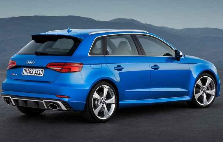 É possível fazer de 0 a 100 km/h em 4,1 segundos e máxima de até 280 km/h - Audi / Divulgação