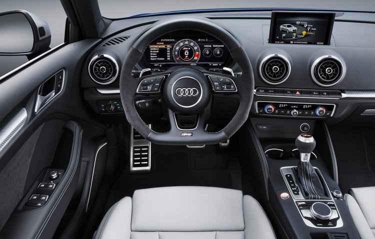 Principal elemento de controle é o botão rotativo e de pressão - Audi / Divulgação