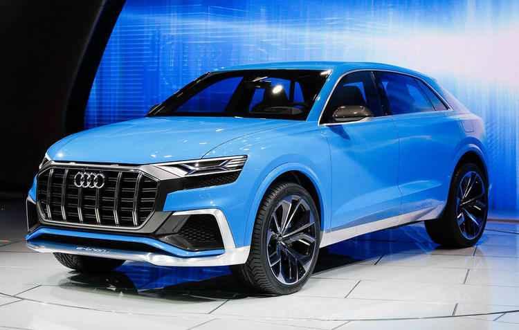 RS Q8 acelera os 5 segundos de 0 a 100 km/h e faz velocidade máxima de 300 km/h - Audi/Divulgação