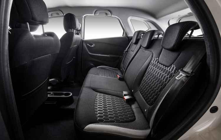 O carro é espaçoso, dá para viajar com a família - Renault/divulgação