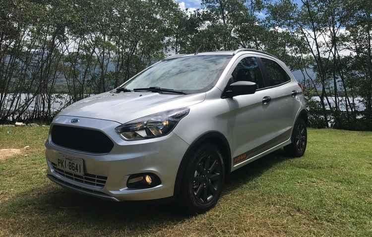 Por R$ 47.690, Ford Ka Trail ganha suspensão mais confortável