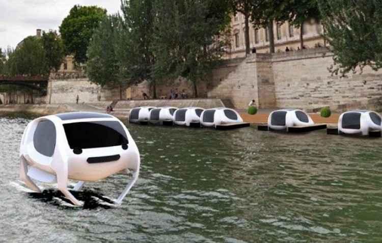 Seabubbles pretende lançar táxi aquático em junho - Youtube / Divulgação