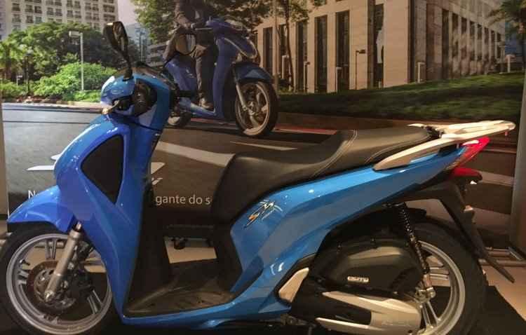 Segundo a montadora o scooter custará a partir de R$ 12.450 - Jorge Moraes / DP