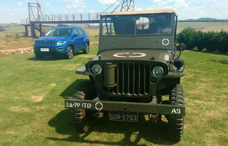 Estamparam o evento carros desde o Willys MB de 1941, ao novo Compass - Thainá Nogueira/Esp. DP