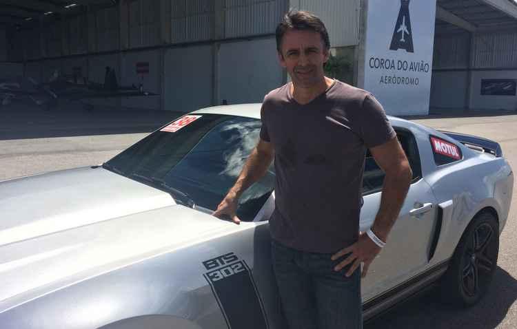 Investir no supermotor é o primeiro passo, afirma o customizador de carros, Fernando Batistinha - Gabriela Bento/Esp. DP