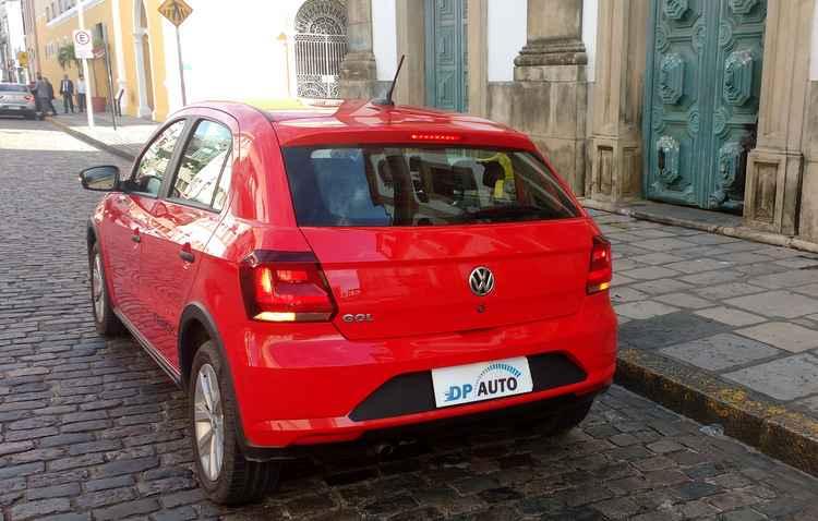 Visual agrada e valor de comercialização também. O veículo é um dos mais em conta do mercado atual - Debora Eloy/Esp. DP